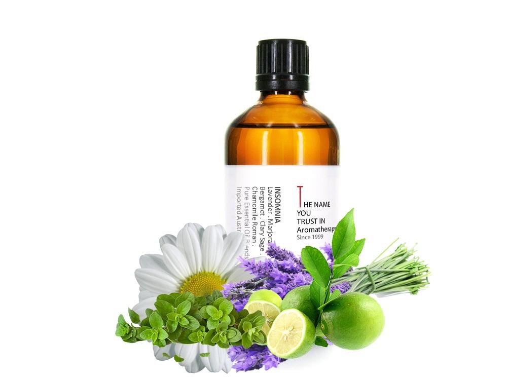 Insomnia Essential Oil Blends 幫助睡眠複方純精油