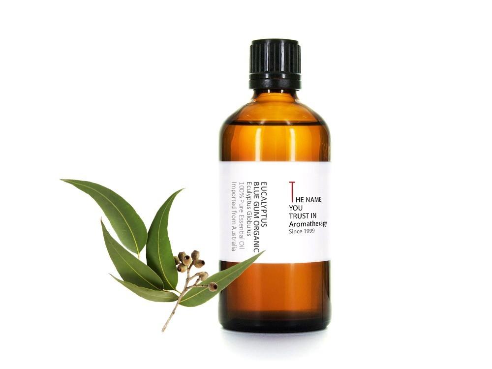 Eucalyptus Blue Gum Organic Essential Oil 藍膠尤加利有機精油