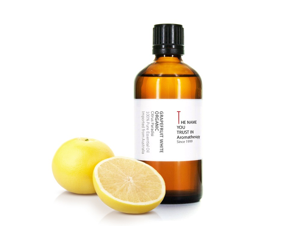 Grapefruit White Organic Essential Oil 白葡萄柚有機精油