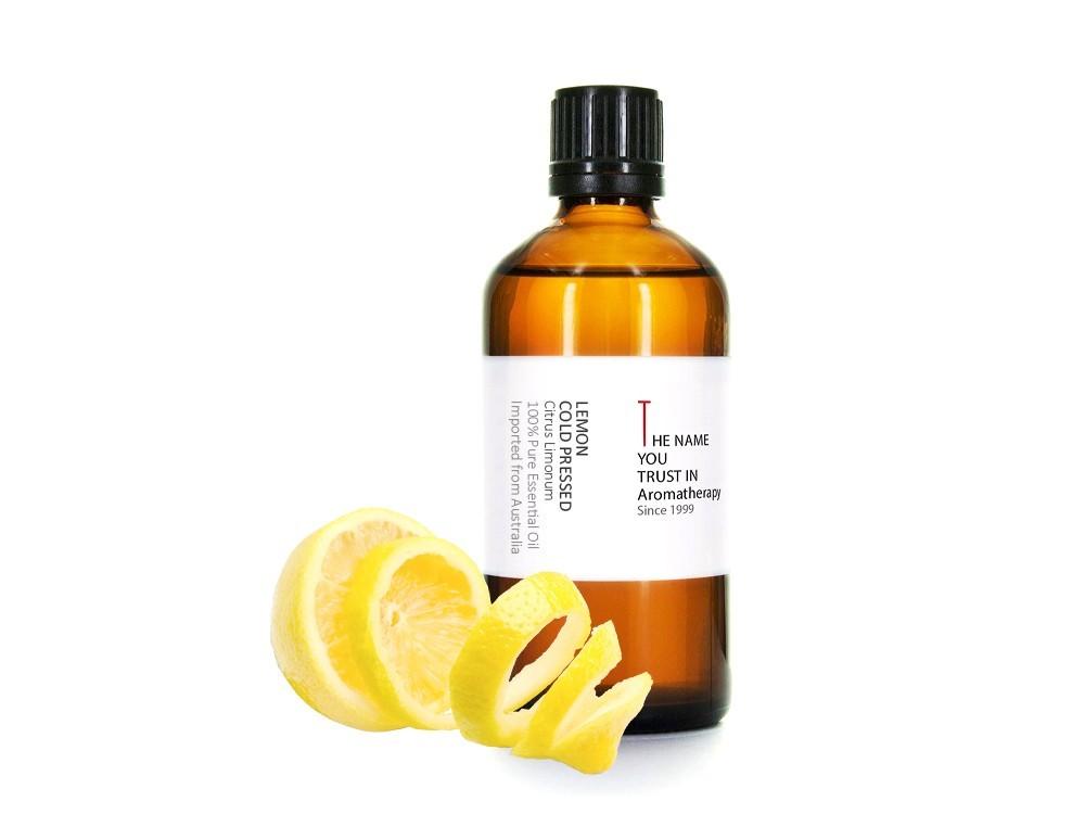 Lemon Cold Pressed Essential Oil 冷壓檸檬純精油