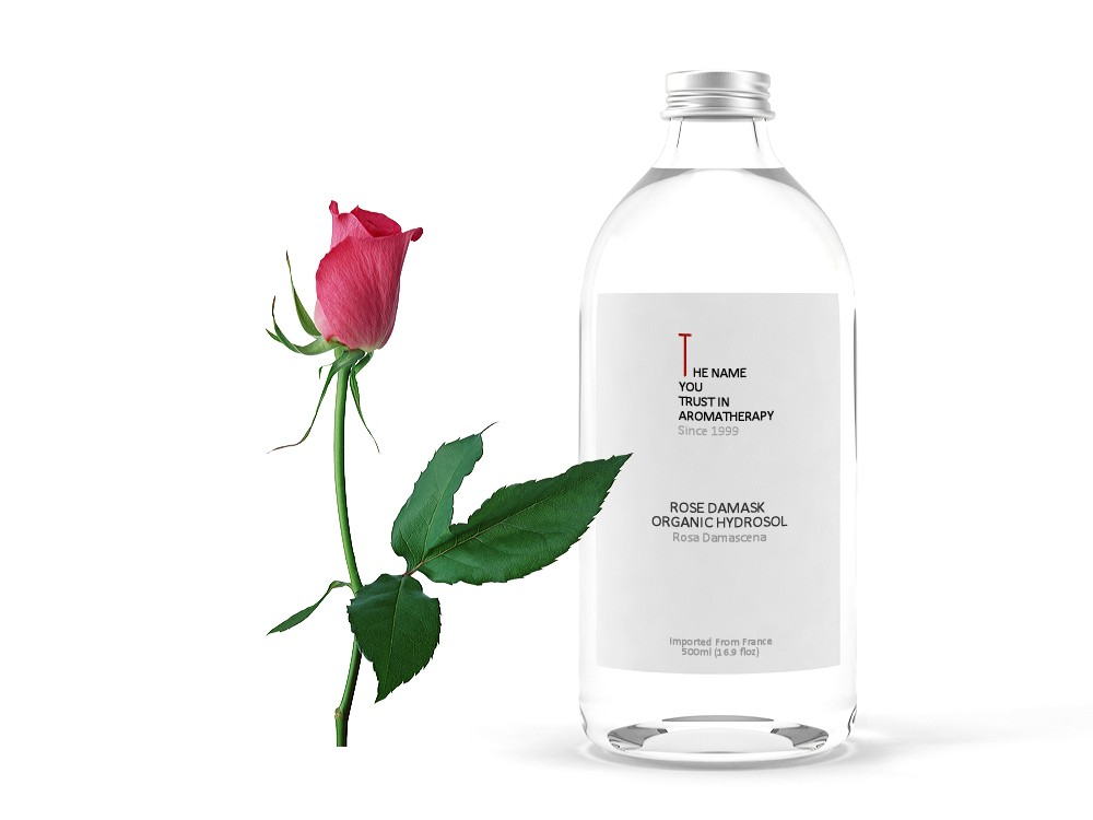Rose Damask Organic Hydrosol 大馬士玫瑰純露 (有機)