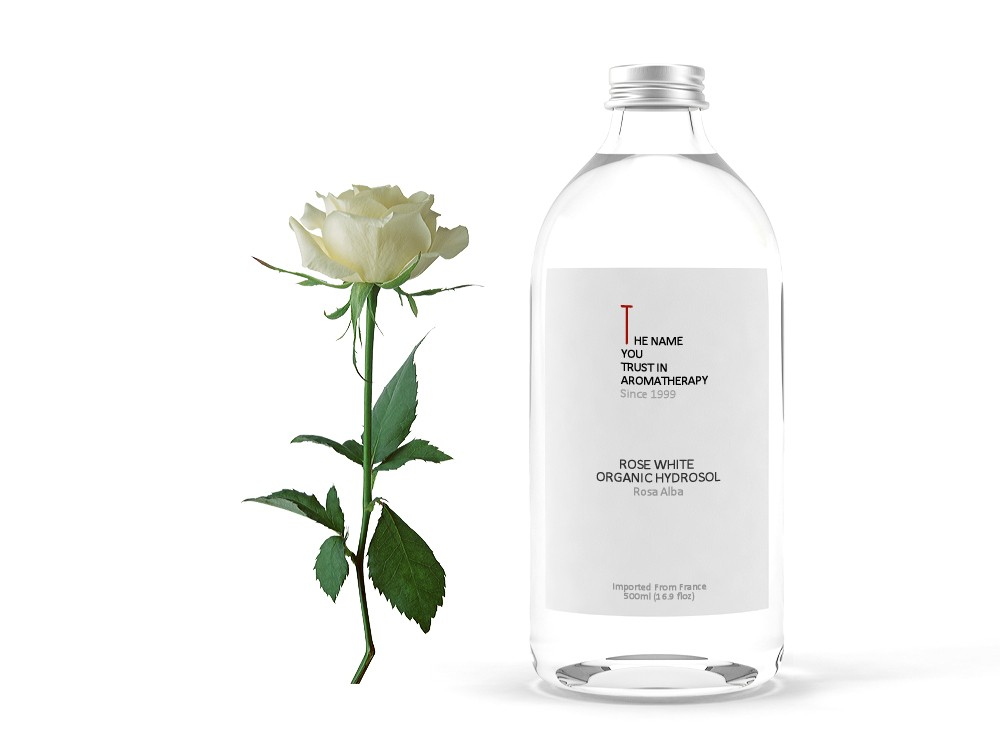 Rose White Organic Hydrosol 白玫瑰純露 (有機)
